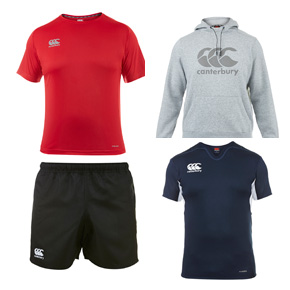 Canterbury rugby clothing