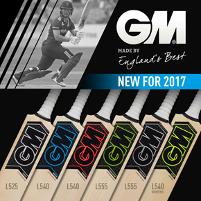 GM Cricket Bats 2017