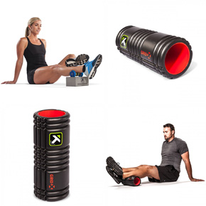 Grid X foam roller from TriggerPoint
