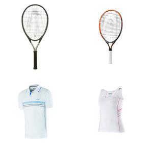 Head tennis rackets - Head tennis clothing