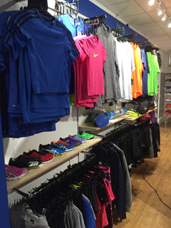 Nike area at Weybridge Sports
