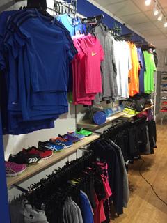 Nike area at Weybridge Sports