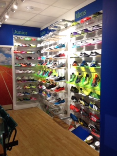 Sport shoes at Weybridge Sports