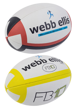 Webb Ellis rugby balls