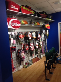 Wilson tennis at Weybridge Sports
