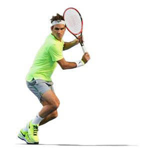 Wilson tennis Roger Federer