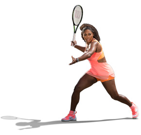 Wilson tennis Serena Williams