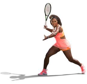 Wilson tennis Serena Williams