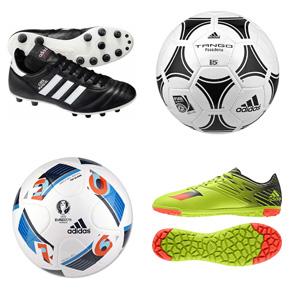 Adidas football boots - Adidas footballs