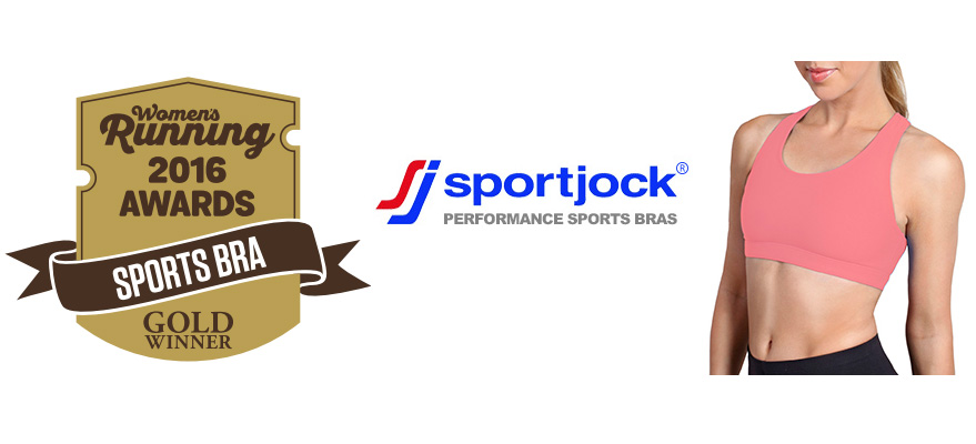 Sportsjock Sports Bras win gold in womens running awards 2016