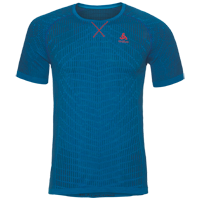 Odlo Ceramicool Blackcomb Running Shirt - Blue