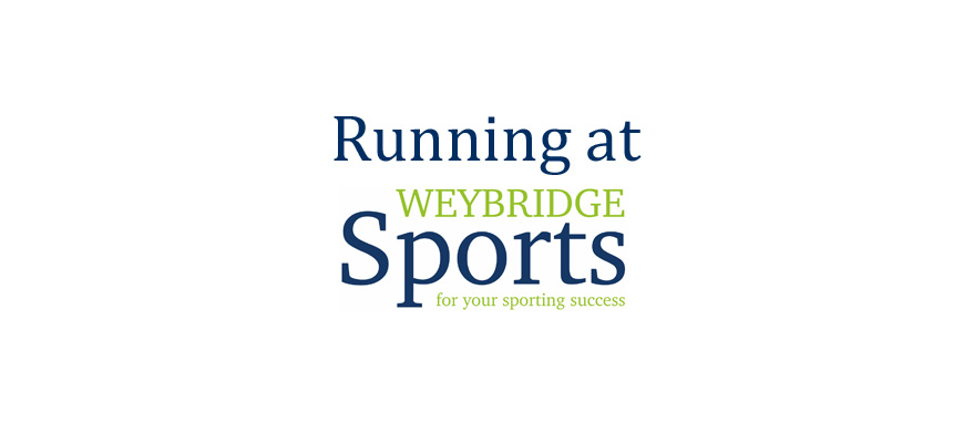 Running at Weybridge Sports Run Club