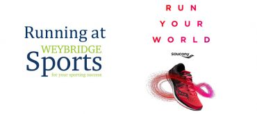 Saucony running at Weybridge Sports