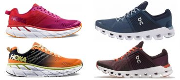 Hoka and On Running events at Weybridge Sports 2020
